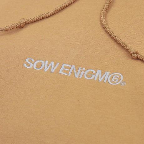 SE@HOODIE <beige> 【SOW ENIGMA】