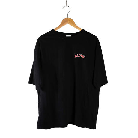STACKS EMPLOYEE Oversized T-Shirt 【BLACK】