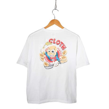 STACKS EMPLOYEE Oversized T-Shirt 【WHITE】