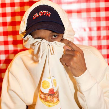 BREAKFAST Hooded Sweatshirt【NATURAL】