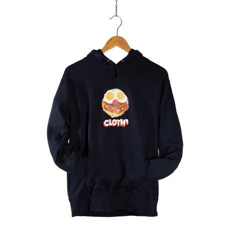 BREAKFAST Hooded Sweatshirt【NAVY】