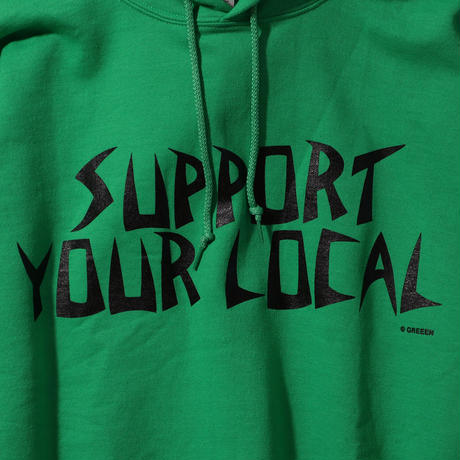 GREEEN support your local PULLOVER