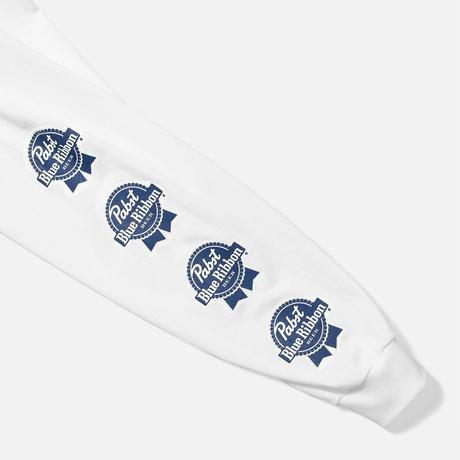 PABST BLUE RIBBON  SMALL LOGO L/S TEE