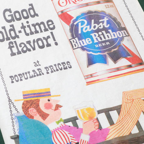 PABST BLUE RIBBON  GOOD OLD TIME TEE