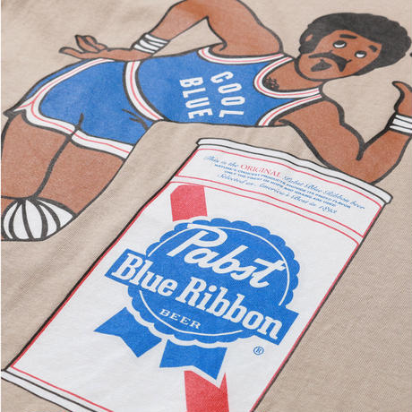 PABST BLUE RIBBON  HOOPS TEE