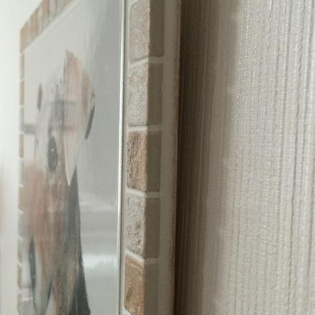 アンティークカラー/アイボリー(XL)◆Tile Picture Frame(XL)/Antique Tone/IVORY◆