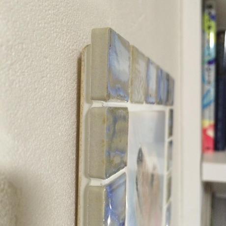 アンティークカラー/オパール(M)◆Tile Picture Frame(M)/Antique Tone/OPAL◆