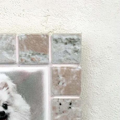 アンティークカラー/コーラル(M)◆Tile Picture Frame(M)/Antique Tone/CORAL◆