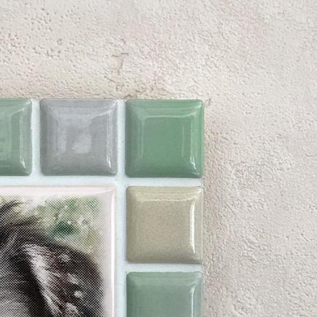 ブライトカラー/フレッシュグリーン(M)◆Tile Picture Frame(M)/Bright Tone/FRESH GREEN◆
