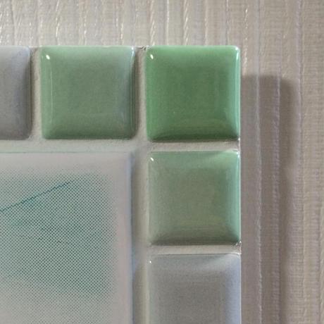 ブライトカラー/フレッシュグリーン(L)◆Tile Picture Frame(L)/Bright Tone/FRESH GREEN◆
