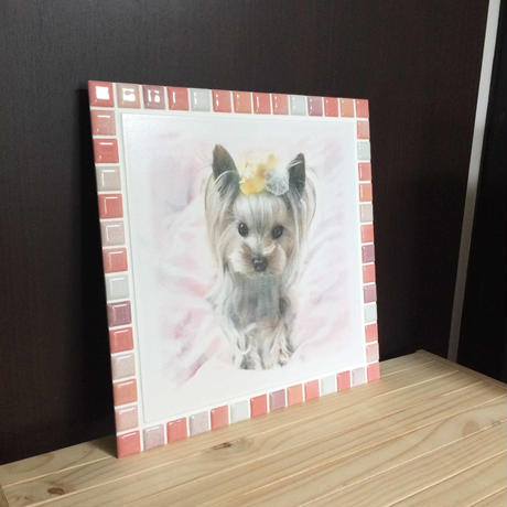 ブライトカラー/ピンク(XL)◆Tile Picture Frame(XL)/Bright Tone/PINK◆