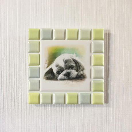 ブライトカラー/イエロー(M)◆Tile Picture Frame/Bright Tone/YELLOW875◆