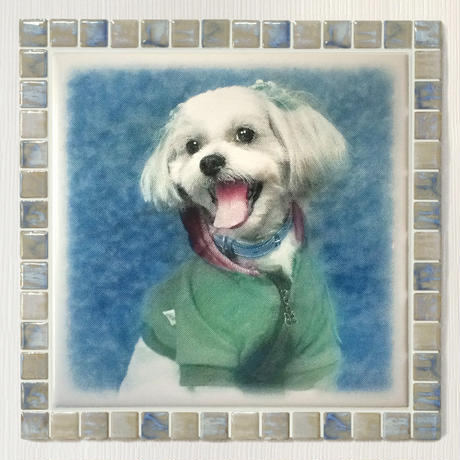 アンティークカラー/オパール(XL)◆Tile Picture Frame(XL)/Antique Tone/OPAL◆