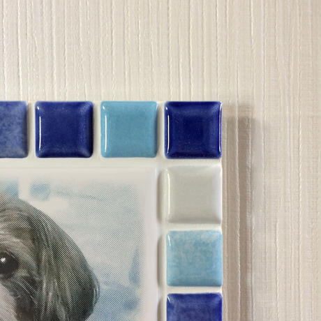 ブライトカラー/マリンブルー(XL)◆Tile Picture Frame(XL)/Bright Tone/MARINE BLUE◆