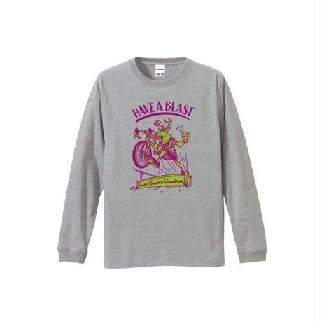 URBAN DEER HAVE A BLAST L/S TEE  CASUAL ver (コットン)