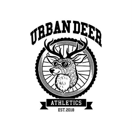 URBAN DEER ATHLETICS TEE  SPORTS ver (ポリエステル100%の機能素材)
