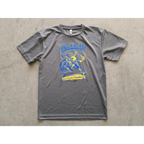 URBAN DEER HAVE A BLAST TEE  SPORTS ver (ポリエステル100%の機能素材)