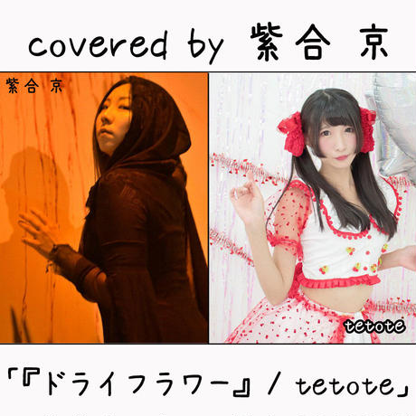紫合 京 が歌う tetote『ドライフラワー』