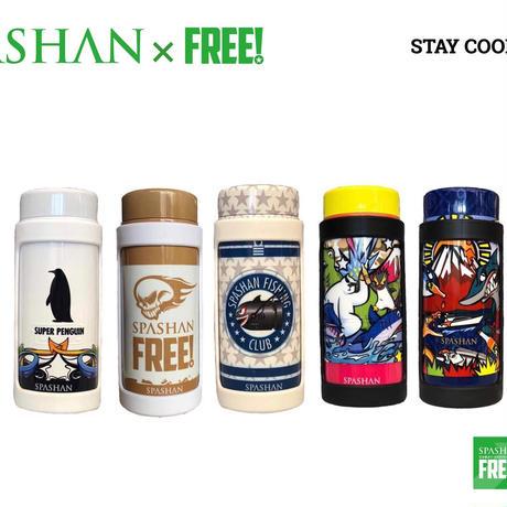 スパシャン STAY COOL 全種類7SET スパシャン限定デザイン ステンレスボトルクーラー ステイクール
