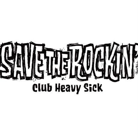 ◆SAVE THE ROCKIN' T-SHIRTS DESIGN by ROCKIN' JELLY BEAN / ブラック / S◆