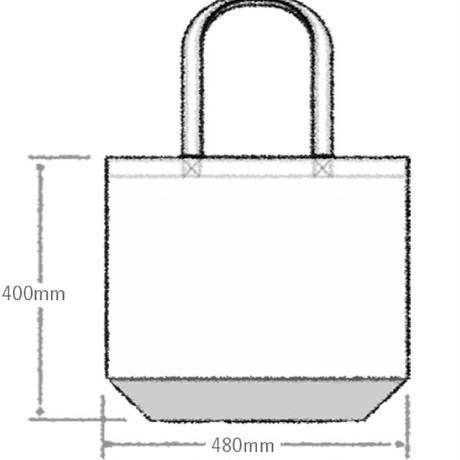 ◆キャンバストートバッグ (Lサイズ) by YASSUTAKA [ナチュラル]◆