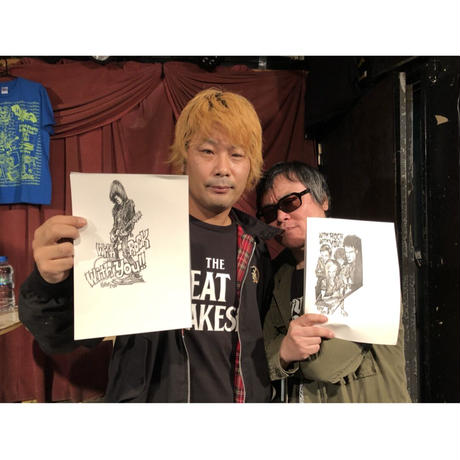 Johnny Ramone drawing by KAME