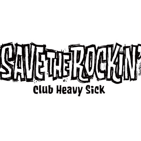◆SAVE THE ROCKIN' T-SHIRTS DESIGN by ROCKIN' JELLY BEAN / カロライナブルー / XS◆
