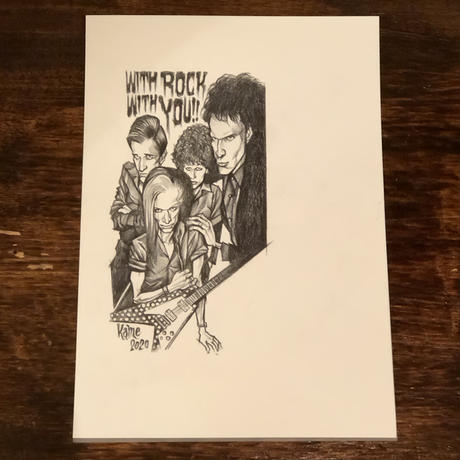 The Cramps drawing by KAME