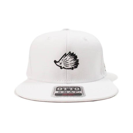 Mono Wedgehog Flat Visor White
