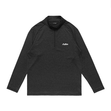 Malbon Golf Fincher 1/4 Zip Jacket BLACK