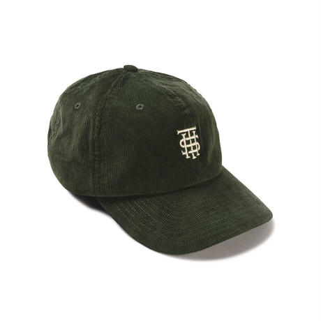 Manors Cord Cap – Forest Green