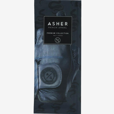 ASHER Premium Collection -Navy Suede