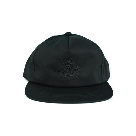 LIXTICK × KING OF DIGGIN' SNAPBACK CAP - Black