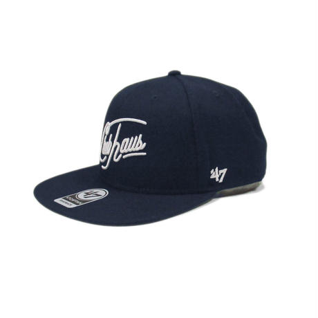 CLUBHAUS Script WSA Hat'47 - Navy
