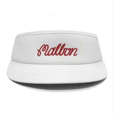 MalbonGolf Script Logo Tour Visor V3