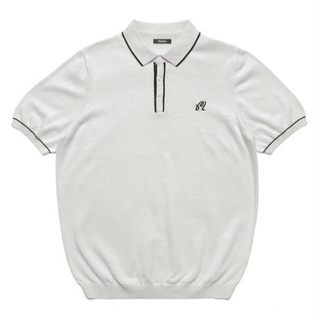 Malbon Biscayne Polo White