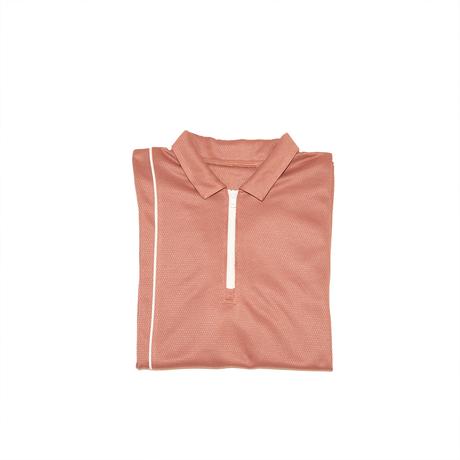 1/4 Zip Wickaway Golf Shirt -peach