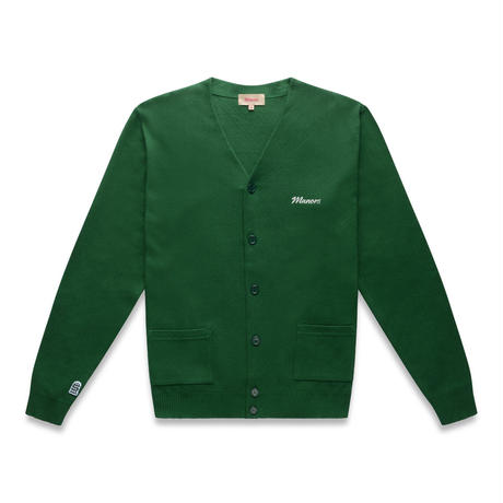 Manors Knitted Cardigan – Forest Green