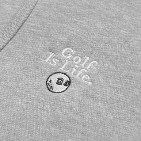 "Malbon "" Golf Is Life"" Hoodie - Gray"