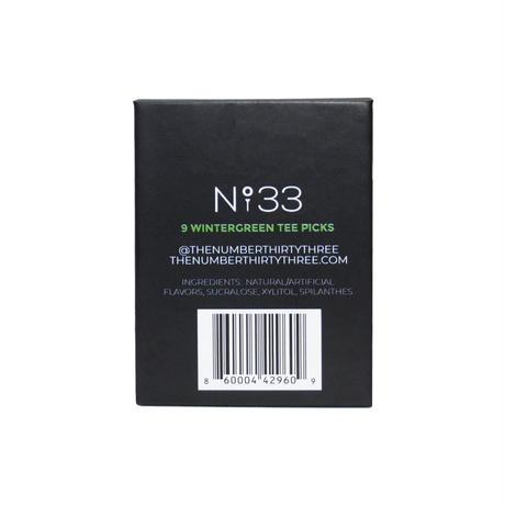 N°33 Original Tee Pick - Winter Green