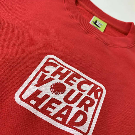 Check Your Head CheckSweat Red