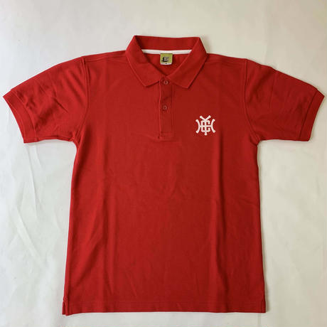 Check Your Head Monogram Polo Red