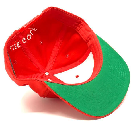 Life Golf Red offset snapback
