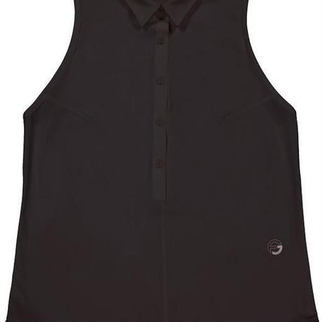Foray Golf CORE Sleeveless Polo - Nero Black
