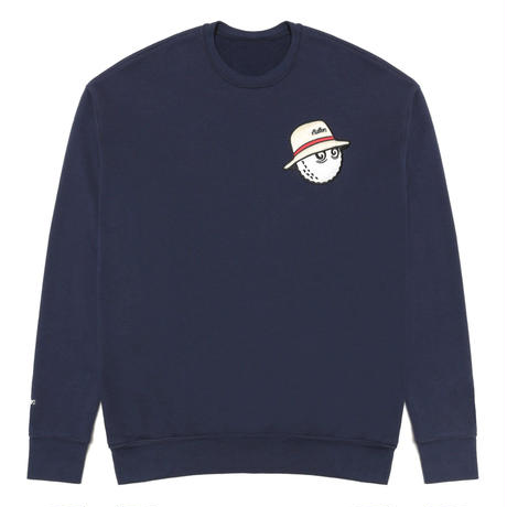 Malbon Golf Cooper Sweat Shirt Navy
