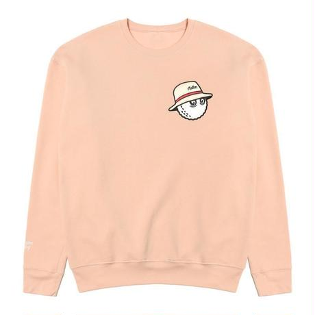 Malbon Golf Cooper Sweat Shirt Peach