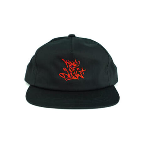 LIXTICK × KING OF DIGGIN' SNAPBACK CAP - Red