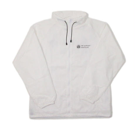 CLUBHAUS handicap is high Nylon Jacket- White