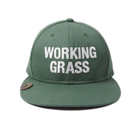 """CheckYourHead """"WORKING GRASS""""  Cap - Sage"""