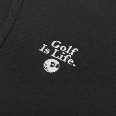 "Malbon ""Golf Is Life"" Hoodie - Black"